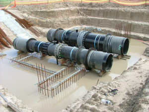 Large Diameter Pipe Installation